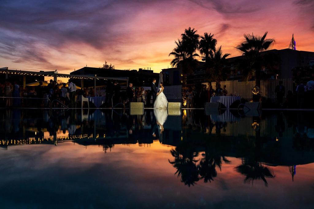boda en Hotel Gran Palas La Pineda